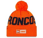 CAPPELLO NEW ERA SIDELINE 2019 ROAD KNIT  DENVER BRONCOS