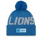 CAPPELLO NEW ERA SIDELINE 2019 ROAD KNIT  DETROIT LIONS