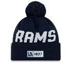 CAPPELLO NEW ERA SIDELINE 2019 ROAD KNIT  LOS ANGELES RAMS