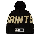 CAPPELLO NEW ERA SIDELINE 2019 ROAD KNIT  NEW ORLEANS SAINTS