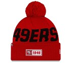 CAPPELLO NEW ERA SIDELINE 2019 ROAD KNIT  SAN FRANCISCO 49ERS