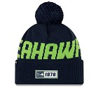CAPPELLO NEW ERA SIDELINE 2019 ROAD KNIT  SEATTLE SEAHAWKS