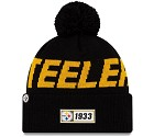 CAPPELLO NEW ERA SIDELINE 2019 ROAD KNIT  PITTSBURGH STEELERS