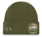 CAPPELLO NEW ERA SALUTE TO SERVICE KNIT 2019 DENVER BRONCOS