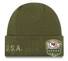 CAPPELLO NEW ERA SALUTE TO SERVICE KNIT 2019  KANSAS CITY CHIEFS