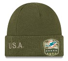 CAPPELLO NEW ERA SALUTE TO SERVICE KNIT 2019  MIAMI DOLPHINS