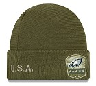 CAPPELLO NEW ERA SALUTE TO SERVICE KNIT 2019  PHILADELPHIA EAGLES