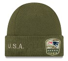 CAPPELLO NEW ERA SALUTE TO SERVICE KNIT 2019  NEW ENGLAND PATRIOTS