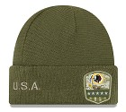 CAPPELLO NEW ERA SALUTE TO SERVICE KNIT 2019  WASHINGTON REDSKINS