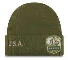 CAPPELLO NEW ERA SALUTE TO SERVICE KNIT 2019  NEW ORLEANS SAINTS