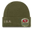 CAPPELLO NEW ERA SALUTE TO SERVICE KNIT 2019  SAN FRANCISCO 49ERS