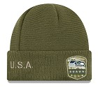 CAPPELLO NEW ERA SALUTE TO SERVICE KNIT 2019  SEATTLE SEAHAWKS