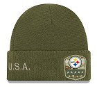 CAPPELLO NEW ERA SALUTE TO SERVICE KNIT 2019  PITTSBURGH STEELERS