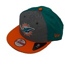 CAPPELLO NEW ERA 9FIFTY DRAFT 14  MIAMI DOLPHINS