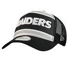 CAPPELLO NEW ERA TRUCKER WORD  OAKLAND RAIDERS
